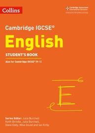 Cambridge IGCSE (TM) English Student's Book by Julia Burchell