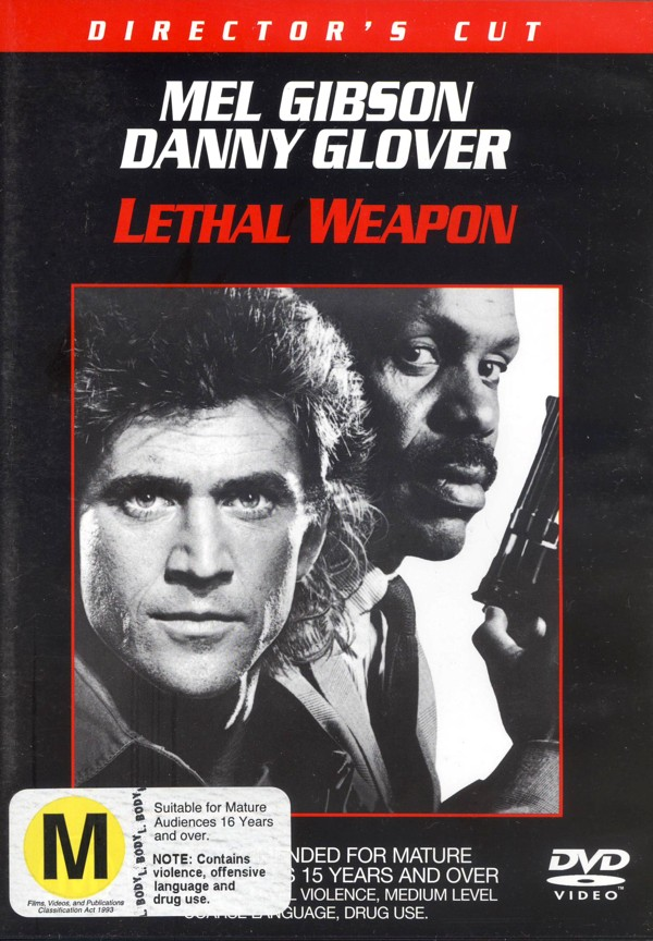 Lethal Weapon 1:  Director's Cut on DVD image
