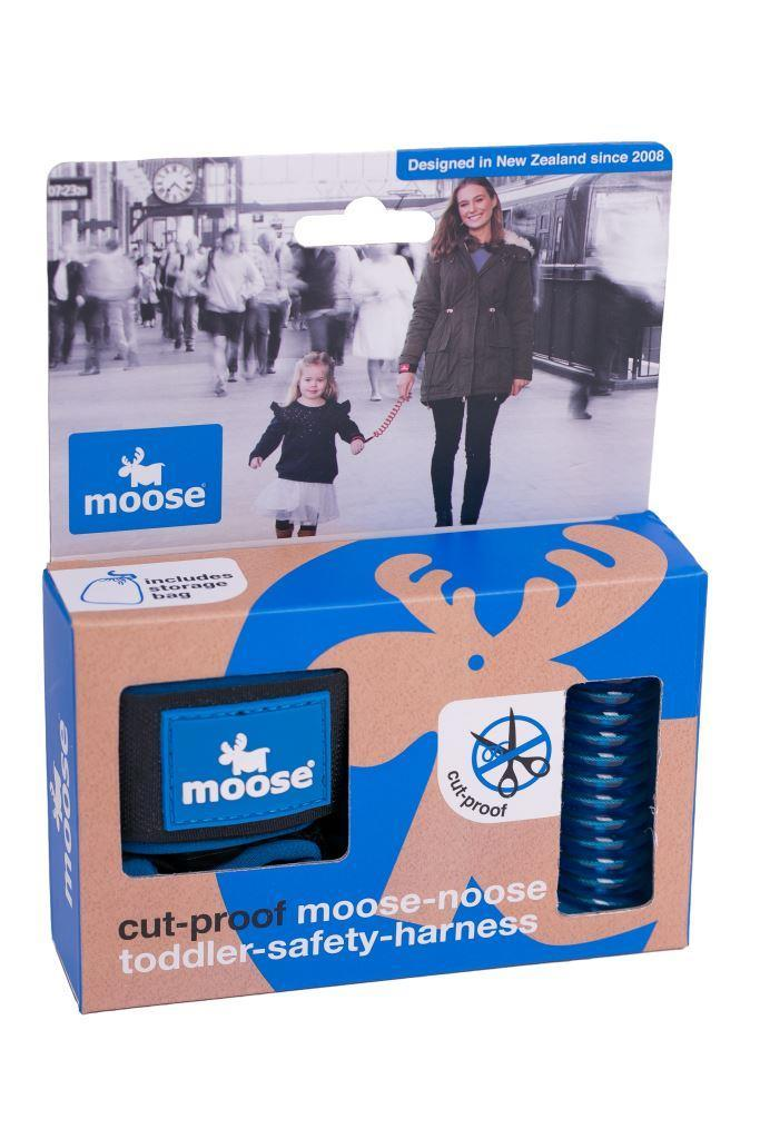 MooseNoose Toddler Safety Harness - Blue image