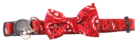 Pawise: Cat Collar with Bowknot - Red