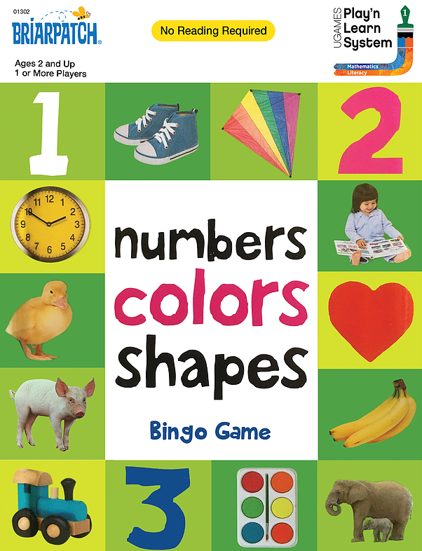 Briarpatch: First 100 Numbers Colors Shapes - Bingo Game image