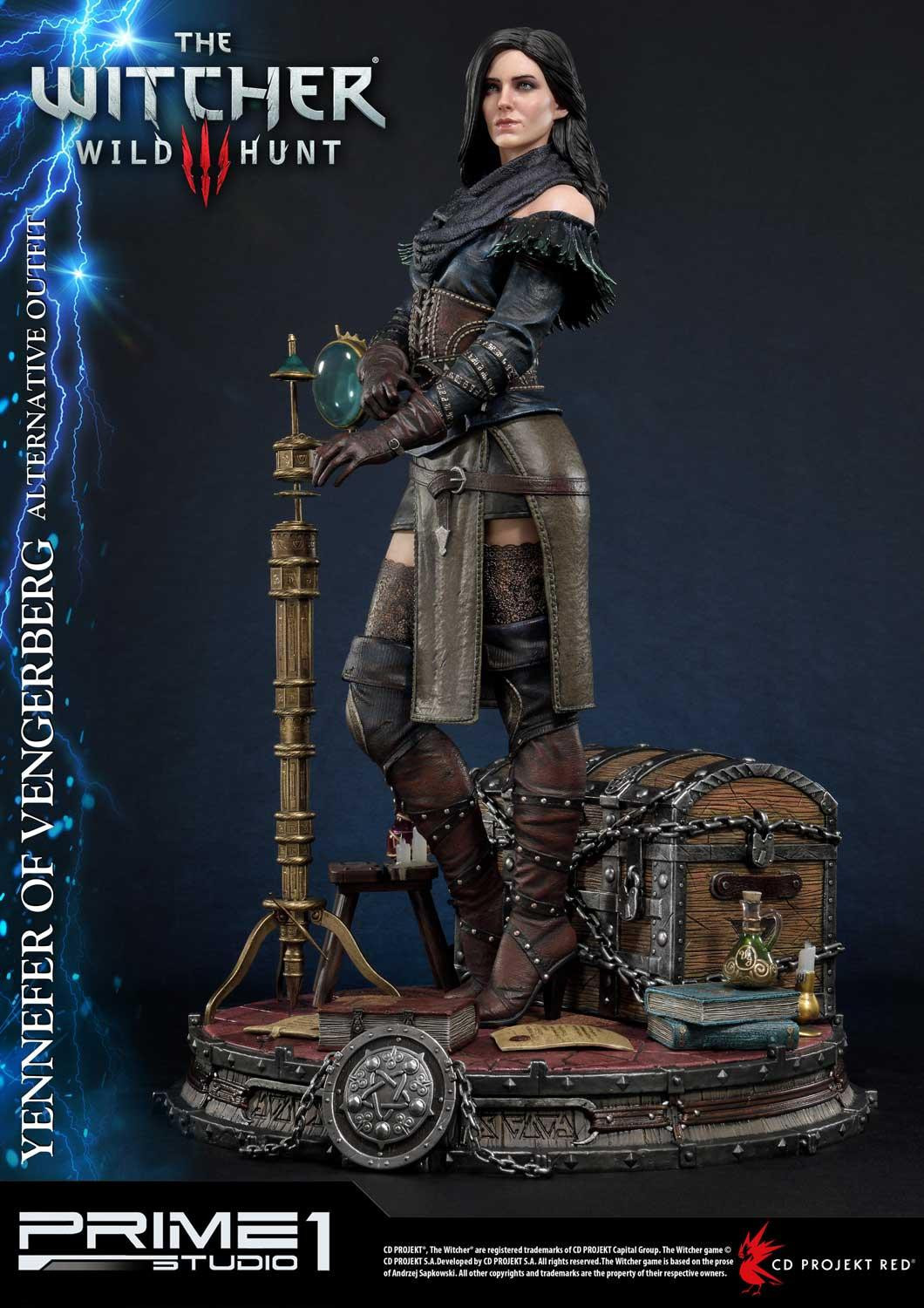 """The Witcher 3: Yennefer of Vengerberg [Alternative Outfit] - 20"""" Premium Statue image"""