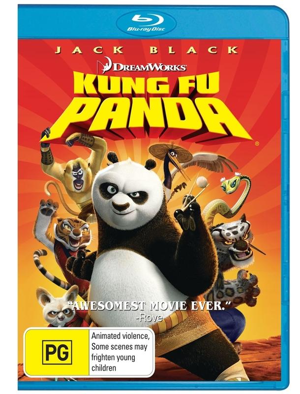 Kung Fu Panda on Blu-ray
