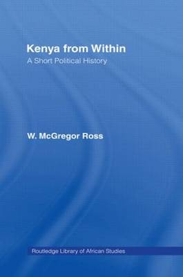 Kenya from Within by Ross W. McGregor