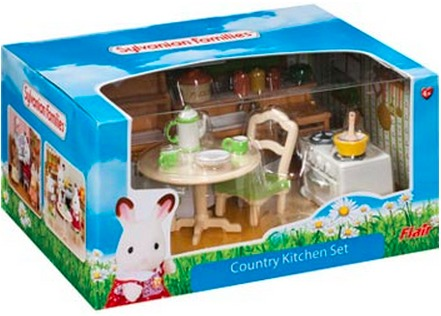 sylvanian families country kitchen sylvanian families country kitchen set at mighty 5965