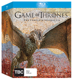 Game of Thrones - The Complete First, Second, Third, Fourth, Fifth & Sixth Season Box Set on Blu-ray