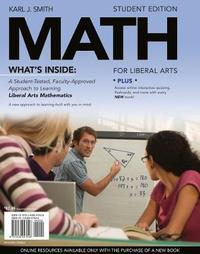 Math for Liberal Arts by Smith image