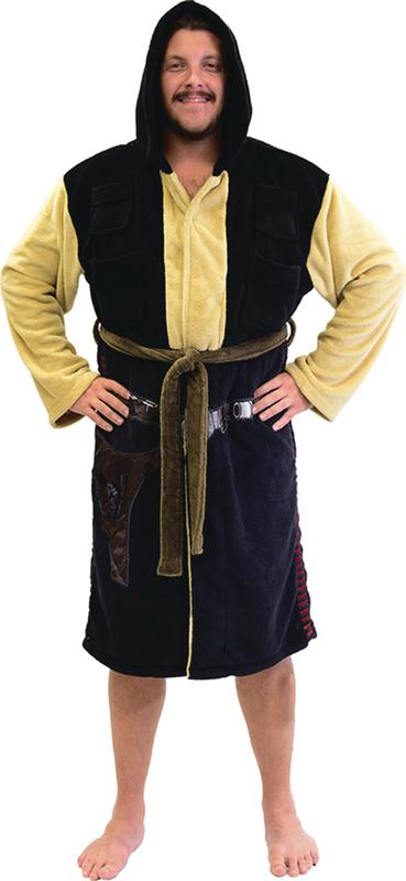 Star Wars: Han Solo Hooded Fleece Bathrobe