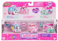 Shopkins: Cutie Cars 3-Pack - Freezy Riders