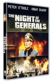 The Night of The Generals on DVD