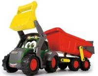 Dickie Toys: Happy Tractor & Trailer - Massey Ferguson