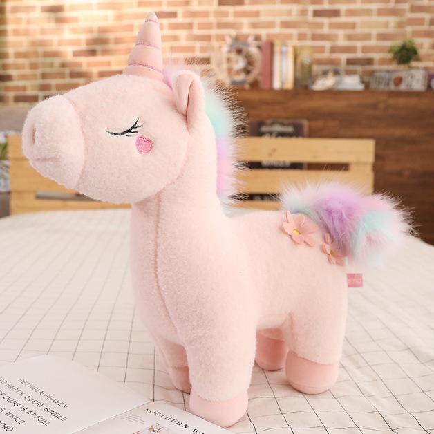 """Unicorn Plush - Pink (28"""")"""