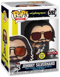 Cyberpunk 2077: Johnny Silverhand (with Guns) - Pop! Vinyl Figure