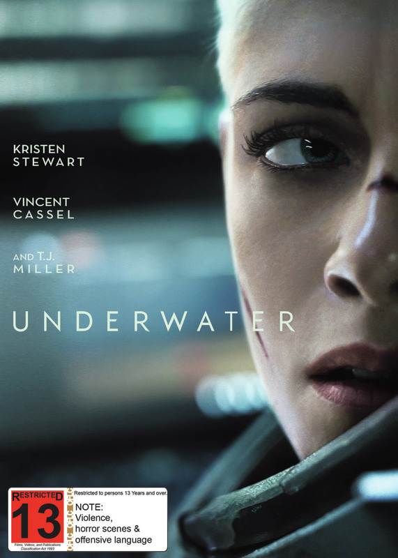 Underwater on DVD
