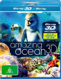 Amazing Ocean on Blu-ray, 3D Blu-ray