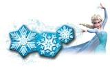 Frozen Snowflake Light Dance Room Light