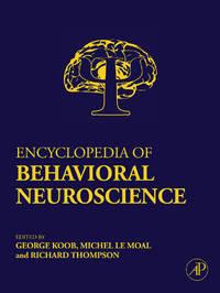 Encyclopedia of Behavioral Neuroscience: Volume 1-3 image