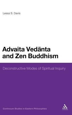 Advaita Vedanta and Zen Buddhism by Leesa S. Davis image
