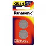 Panasonic Lithium 3V Coin Cell Battery CR2016 - 2 Pack
