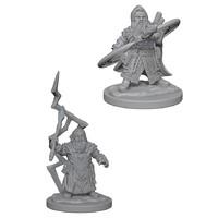 D&D Nolzurs Marvelous: Unpainted Miniatures - Dwarf Male Sorcerer