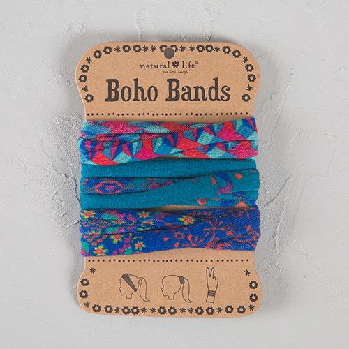 Natural Life: Boho Bands - Red Purple