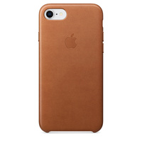 iPhone 8 Leather Case - Saddle Brown