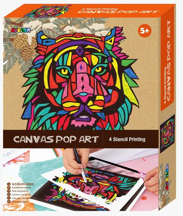 Avenir: Canvas Pop Art Kit - Lion
