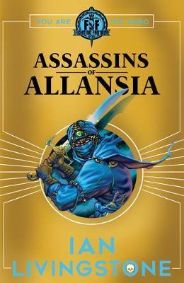ASSASSINS OF ALLANSIA by Ian Livingstone image