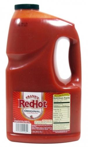Frank's RedHot Cayenne Sauce Bulk Bottle 3.78L