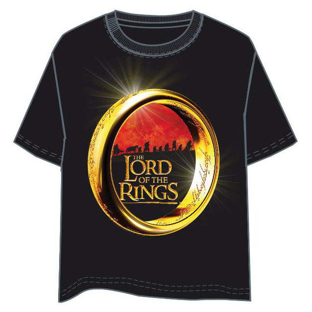 The Lord of the Rings: Fellowship Adult T-Shirt - (Size: M)