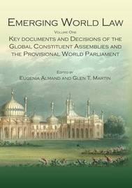 Emerging World Law