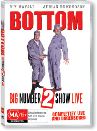 Bottom - The Big Number 2 Show Live on DVD