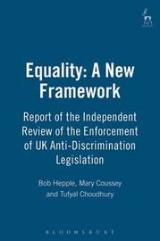 Equality: A New Framework by Bob Hepple image