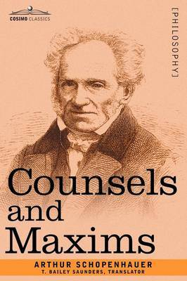 Counsels and Maxims by Arthur Schopenhauer image
