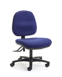 CS Alpha 2 Lever Mid Back Task Chair - Navy