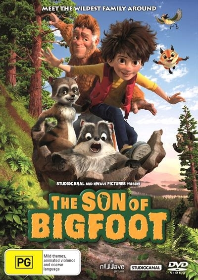The Son of Bigfoot on DVD image