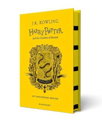 Harry Potter and the Chamber of Secrets - Hufflepuff Edition by J.K. Rowling image