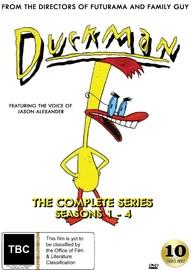 Duckman The Complete Series (Seasons 1-4) on DVD