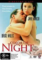 Color Of Night on DVD