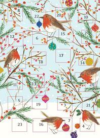 Caroline Gardener: Advent Calendar - Robins