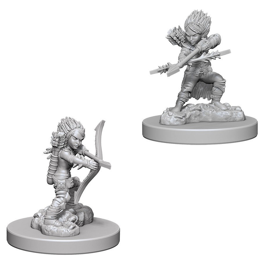 Pathfinder Deep Cuts: Unpainted Miniature Figures - Female Gnome Rogue image