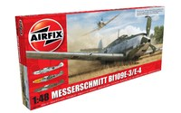 Airfix 1/48 Messerschmitt Bf109E-3/E-4 - Model Kit