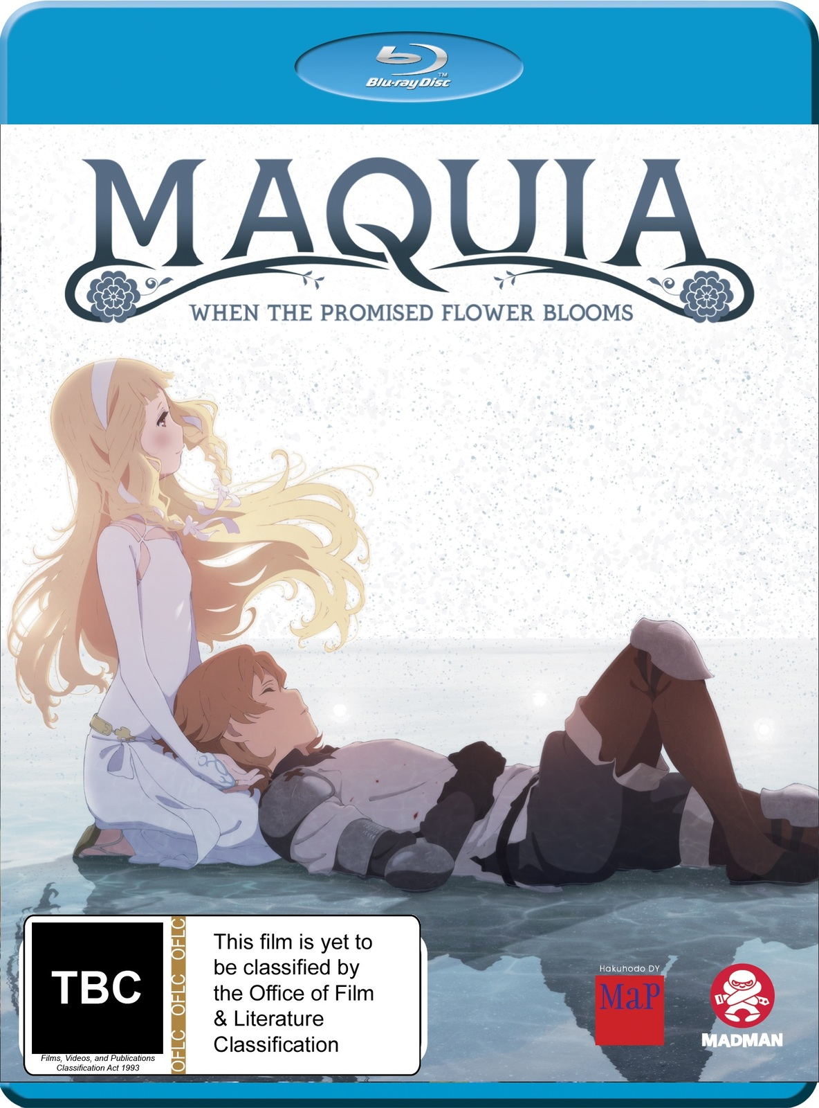 Maquia: When The Promised Flower Blooms on Blu-ray image