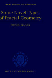 Some Novel Types of Fractal Geometry by Stephen Semmes image