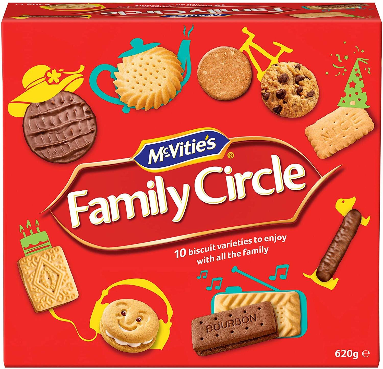 McVitie's Family Circle Biscuits (670g) image