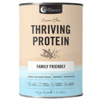 Nutra Organics Thriving Protein Powder - Cacao Chocolate (450g)