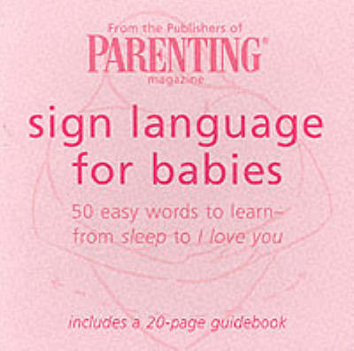 Sign Language for Babies Cards: 50 Easy Words to Learn - from Sleep to I Love You image