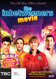 The Inbetweeners Movie on DVD