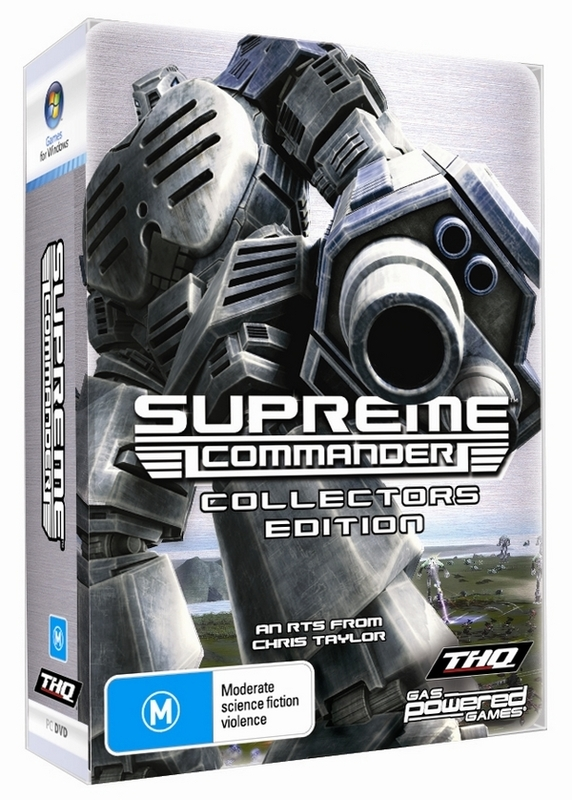Supreme Commander Collector's Edition for PC Games