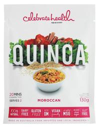 Celebrate Health - Moroccan Quinoa (130g)